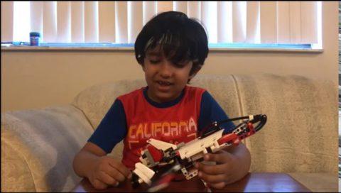 Ivan's Lego Chocolate Launcher