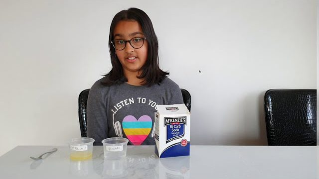 Aizeen Karedia - Science Experiments