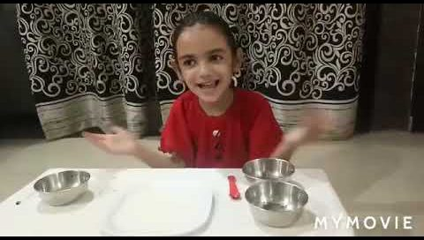 STEM Experiment By Aashna Grade 1