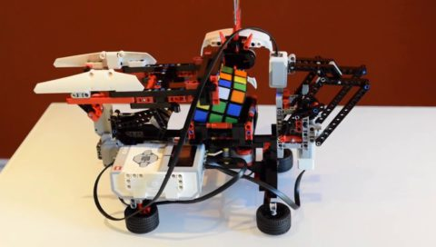 Aahyaan Rubik's Cube Project