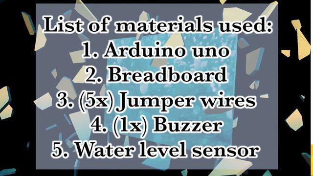 The Arduino Water Level Sensor