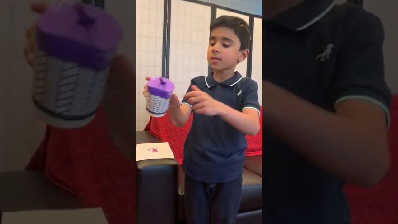 Kinetic Energy With Household Objects