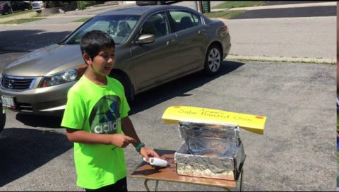 Aayan'S Solar Powered Oven