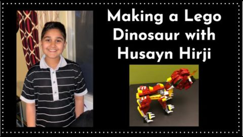 Making A Lego Dinosaur With Husayn Hirji
