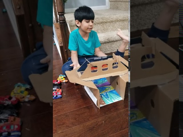 Creating a Cardboard Bridge