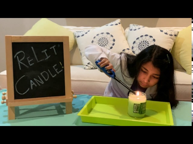 Relit Candle