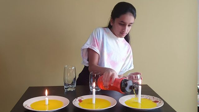 Candle Experiment
