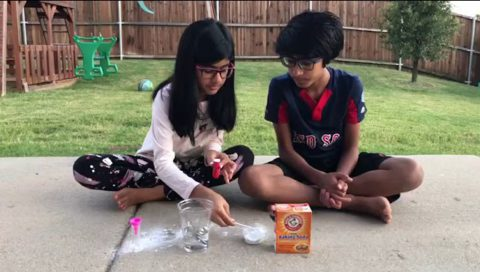 Vinegar Rocket Science Experiment
