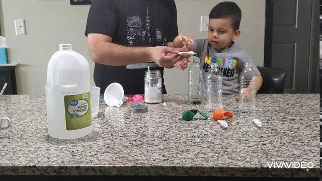 Acid And Base Ballon Experiment