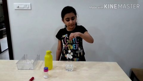 Lifting Icecubes With Thread