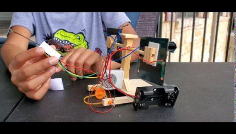Solar Hybrid Remote Control Car