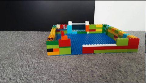 W Lego Restaurant