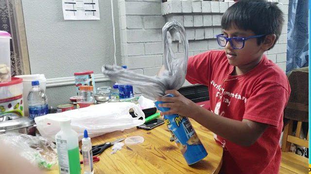 Pringles Can Plastic Bag Dispenser Name Nuaym Samnani Grade : 4Th Age : 9