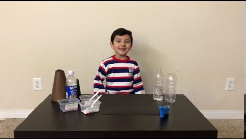 Science Experiment Of Volcano Explosion