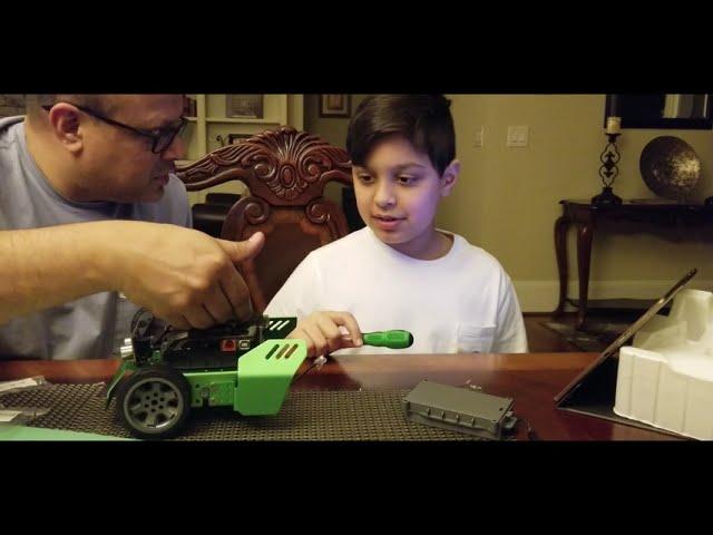 Steam-Building A Robot (Q Scout)