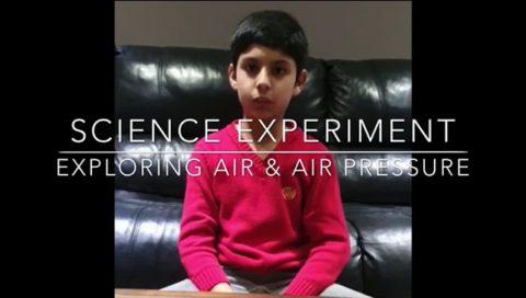 Exploring Air And Air Pressure.