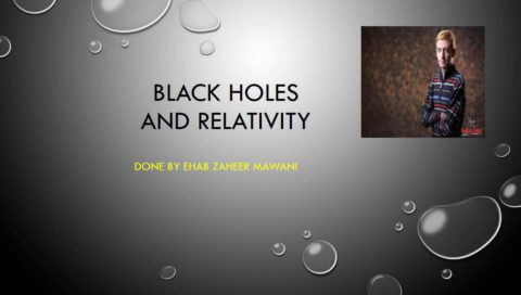 Black Hole And Relativity Concept