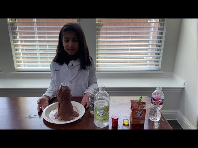 Baking Soda Volcano Experiment