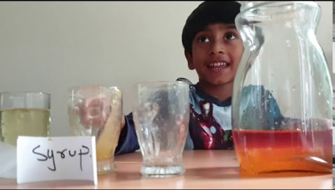 Densities of Different Liquids
