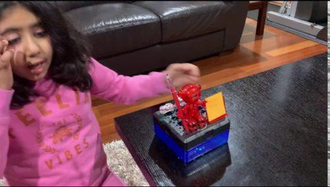 Maheen Lakhani'S Robot Alarm Clock
