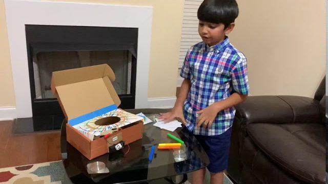 Zidan'S Spinning Art Machine