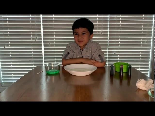 Kian Lakhani'S Science Experiment