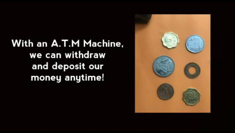 Kids Atm Machine Made By Sheezajeevani