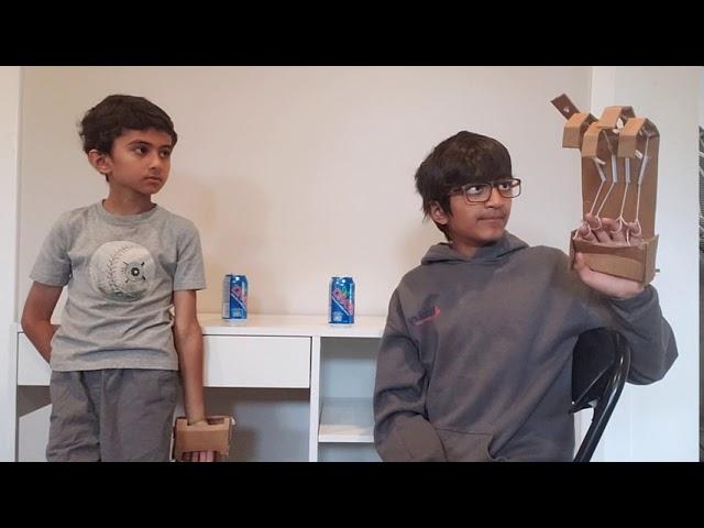 The Amazing Magical Robotic Arm