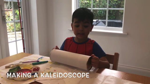 Making A Kaleidoscope